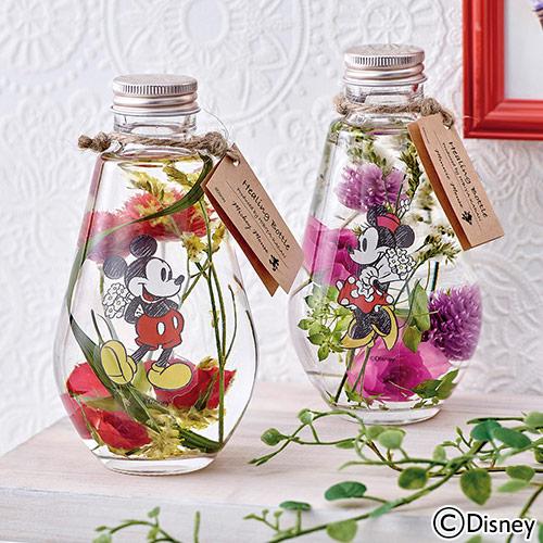 日比谷花壇【日比谷花壇】母の日 ディズニー Healing Bottle? Disney collection? 「ミッキー&ミニー」【沖縄届不可】