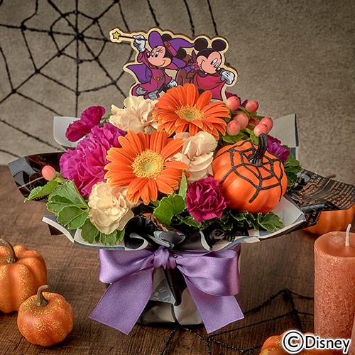 日比谷花壇〈日比谷花壇〉ディズニー アレンジメント「ミッキー&ミニー Spooky Halloween」