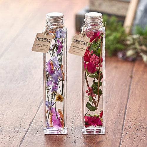日比谷花壇〈日比谷花壇〉【お供え用】O・SO・NA・E flower 「Healing Bottle秋冬」【沖縄届不可】