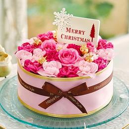 【日比谷花壇】【クリスマス】フラワーパティシエ「ガトーイヴェール」