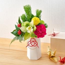 【日比谷花壇】お正月 アレンジメント「輝き」