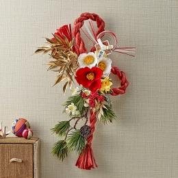 【日比谷花壇】お正月 しめ飾り「花夢」