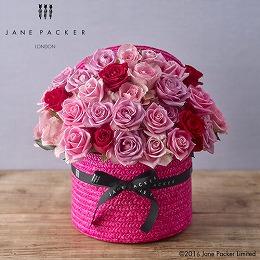 【日比谷花壇】JANE PACKER アレンジメント「ピンクローズ」