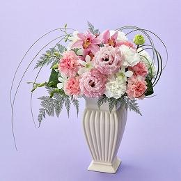 〈日比谷花壇〉【お供え用】アレンジメント「エテルナ」