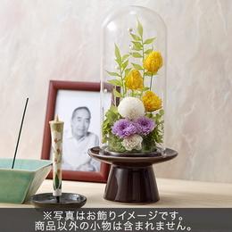 【日比谷花壇】【お供え用】プリザーブドアレンジメント「花かすみ」