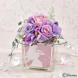 〈日比谷花壇〉ディズニー カラーサンド プリザーブドフラワー 「オーロラ」