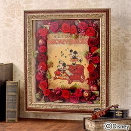 〈日比谷花壇〉ディズニー フラワーフレームアート 「フーピー・パーティー」