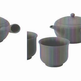 【日比谷花壇】常滑焼 伝統工芸士 梅原廣隆作 朱泥茶の間セット(愛知県)