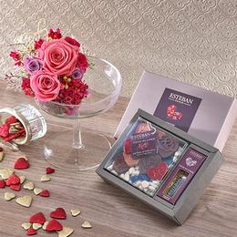【日比谷花壇】香りを楽しむギフト ESTEBAN「クール ド パリ」とアロマディッシャーのセット