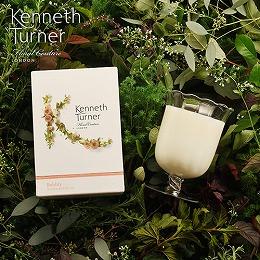 〈日比谷花壇〉Kenneth Turner「ステムベースキャンドル(バブリー)」