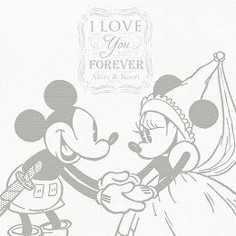 <日比谷花壇>ディズニー ウェルカムボード「特別な日」(ミッキー&ミニー)