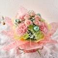 【日比谷花壇】クリスマス そのまま飾れるブーケ「パステルノエル」