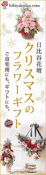 日比谷花壇 フラワーギフト クリスマス 通販