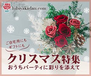 日比谷花壇 フラワーギフト クリスマス